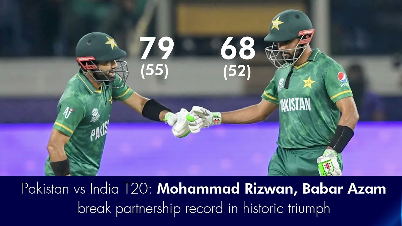Pakistan won the match by 10 wickets and made history that Pakistan beat India in the world cup.